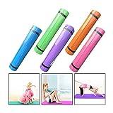 Rameng Tapis de Yoga Antidérapant 4MM Yoga Mat pour Pilates Fitness Sport Gym (A)