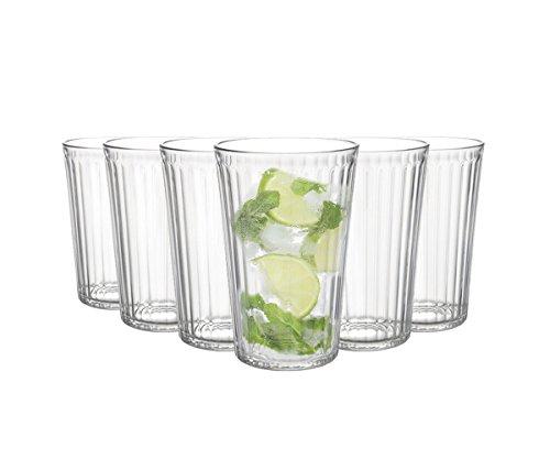 Tivoli Wassergläserset Marseille / 6 teilig / Füllmenge: 250 ml | Ein Glas für alle Getränke / der perfekte Allrounder / Gastronomiegeeignet / Spülmaschinenfest