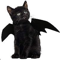 Ailes de chauve-souris JDYW Pet Bat Costume pour chiens de chats. Cet article est fait de tissu de feutre noir, sûr et confortable, durable et écologique, ne fera aucun mal à vos animaux de compagnie. Et les attaches du cou et de la poitrine sont ...