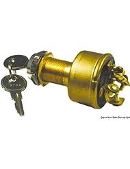 Osculati 14.918.30 - Chiave avviamento 5 contatti 15 A (Watertight ignition key 5 positions)