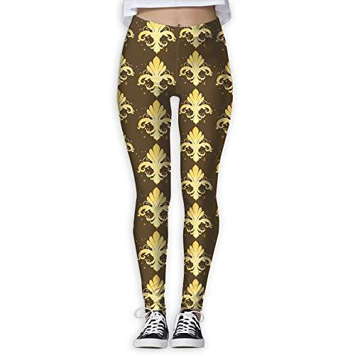 wwoman Women's Abstract Mardi Gras Thin Tight Athletic Yoga Pants Leggings Pants,S (Mardi Strumpfhosen Gras)