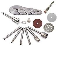 Dremel Grinder için Kesici aksesuar Seti Ahşap Metal Plastik Kesme Oyma Mini Disk takımı hobici set