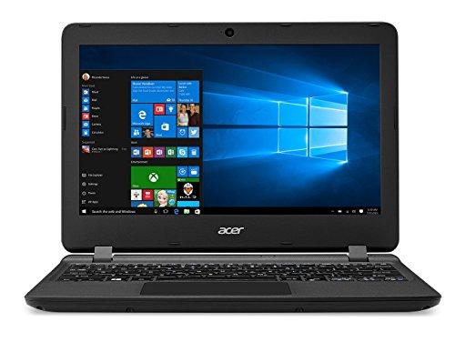 Acer Aspire ES1-132-C7UM PC Portable 11,6' Noir (Intel Celeron, 2 Go de RAM, SSD 32 Go, Intel HD Graphics, Windows 10)