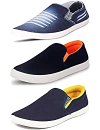 Maddy Perfect Combo of Sneaker, Loafers Shoes for Men Pack of 3 in Various Sizes