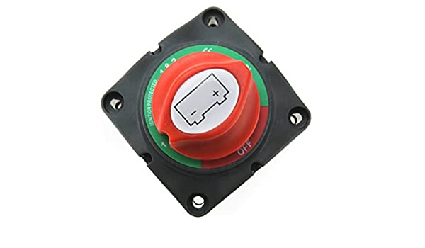 12/V//24/V batteria interruttore principale interruttore Stacca-batteria aufbau interruttore commutatore