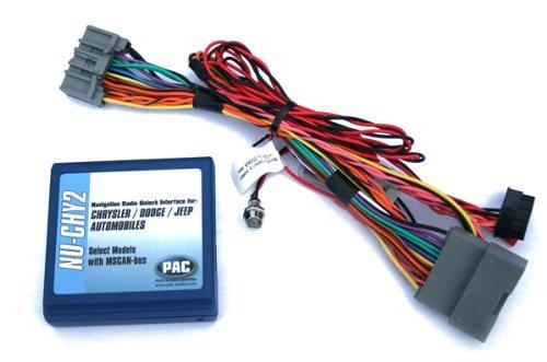 P.A.C. Pac nu-chy2Chrysler/Dodge/Jeep Navigation Unlock Integration Schnittstelle Pac Navigation