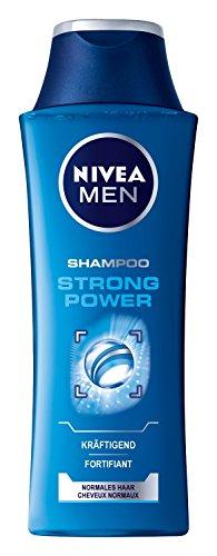 Nivea Men Strong Power Haarpflege Shampoo, Doppelpack, (2 x 250 ml)