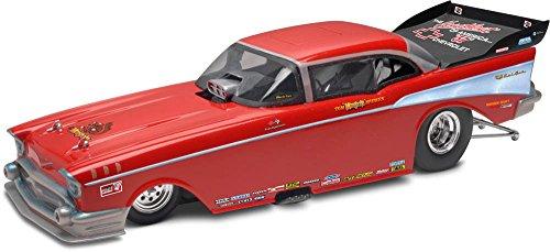 Revell Monogram 1:24 Scale McEwen 1957 Chevy Funny Car Plastic Model Kit