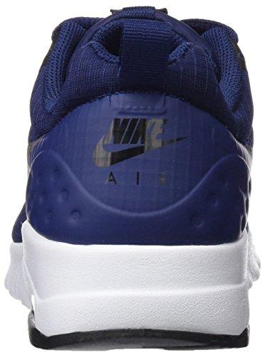 Nike 844895, Scarpe da Ginnastica Basse Donna Multicolore (Azul / Plata)