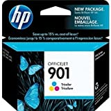 HP 901 Cartouche d'encre d'origine 1 x couleur (cyan, magenta, jaune) 360 pages boîtier rigide