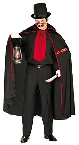 Jack der Ripper Kostüm Einheitsgröße Erwachsene