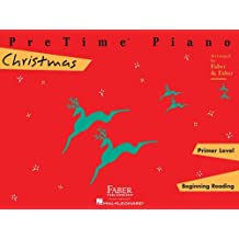 Pretime Piano Christmas,Primer Level: Beginnning Reading (Faber Piano Adventures) by Nancy Faber (1989-01-01)