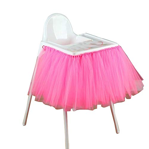 Tüll Tisch Rock Tutu Für Baby Geburtstag Party Dusche Dekoration 11 ()