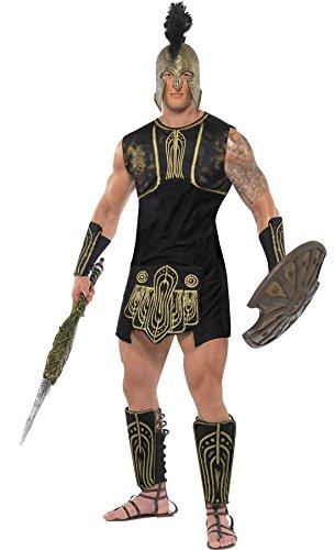 les Kostüm für Männer, M, Mehrfarbig (Achilles Halloween-kostüm)