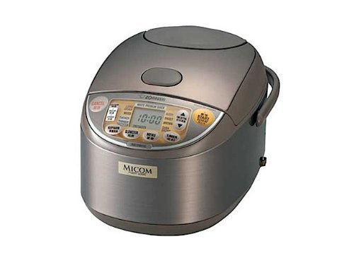 If 10/220-230V NS-YMH18 to cook extremely Zojirushi rice cooker overseas