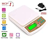 MCP Compact Scale with Tare Function SF 400A with Adaptor 10 kg Digital