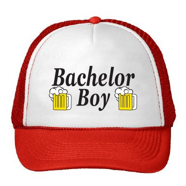Bachelor Boy Trucker Hat As Seen On Parks and Recreation