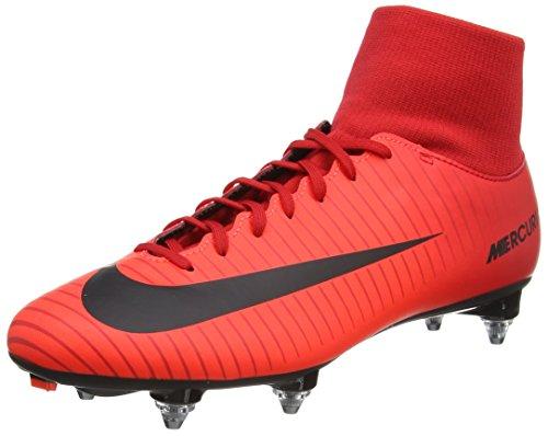 Nike Herren Mercurial Victory Vi Df Sg Fußballschuhe, Rot (University Redblackbright Crimson), 43 EU