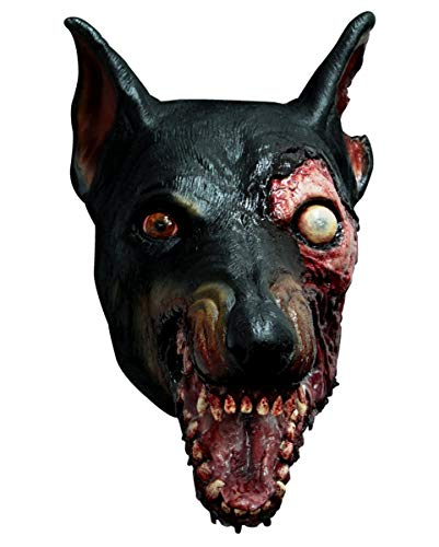 Horror-Shop Máscara perro Resident Evil Zombie