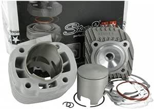 Zylinderkit Stage6 Racing 70cc Mkii 12mm Kolbenbolzen Für Minarelli Liegend Ac Auto