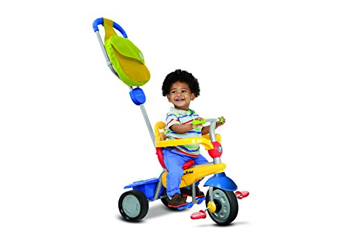 Giochi Preziosi Ofr6160100 Triciclo Smart Trike Breeze 3 in 1 Blu/Giallo