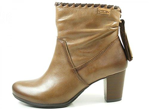 Pikolinos W5C-8813 Verona Schuhe Damen Ankle Boots Stiefeletten Beige