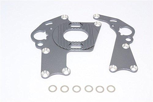 HPI Sprint 2 Tuning Teile Aluminium Motor Mount - 1 Set Gray Silver -