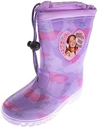 Bottes de pluie enfant fille Violetta Violet du 26 au 36