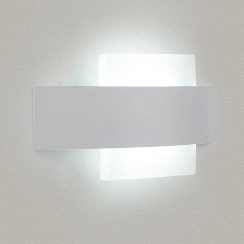 MOMO Kreative Art und Weise führte Nachttisch-Wandlampe runde warme Schlafzimmer-Wand-Lampen-moderne Gang-Acryllampen