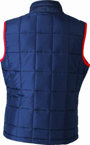 &james nicholson veste sans manches matelassée légère Bleu (navy/red)