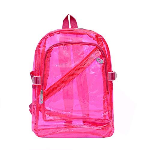Kaister Unisex Outdoor Reiserucksack Candy Farbe wasserdichte Rucksäcke Umhängetaschen Wasserdichte Schulpakete - Braune A5 Organizer