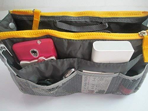 Domire Handtaschen-Organizer, groß, Reisetasche grau