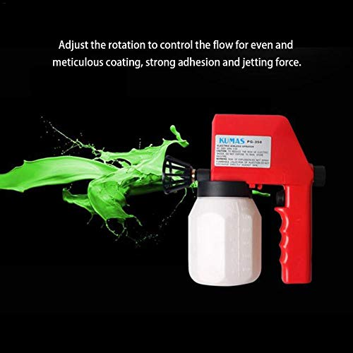 Electric Paint Sprayer (Little Fairy Fang Electric Paint Sprayer 220V Home DIY Electric Paint Spray Machine Electromechanical Sprayer for Auto Parts House Garage Deck Furniture Indoor Outdoor Fence)