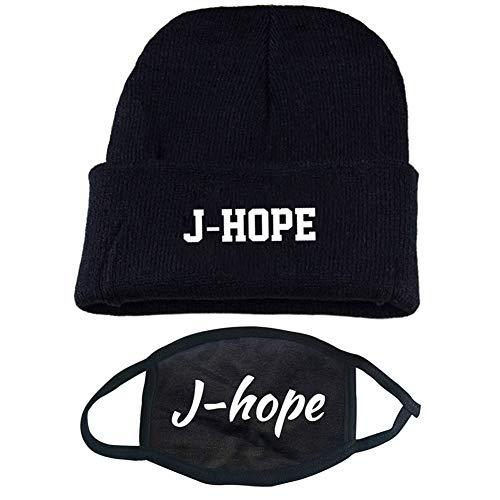 mützen BTS Mundschutz, Bangtan Boys BTS Hüte für Immer Fan Shop Suga Jin Jimin Jung Kook J Hoffnung Rap Monster V(H33) ()