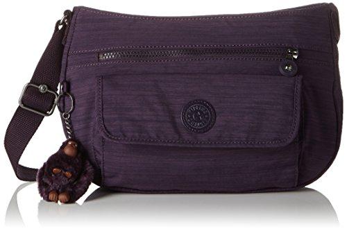 Kipling Syro, Sacs Bandoulière Femme, Violet (79W Dazz Purple), 31x22x12.5 cm