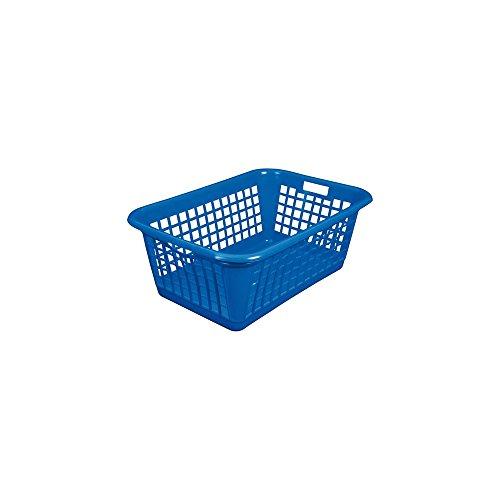 Corbeille à linge - 60 L - bleu