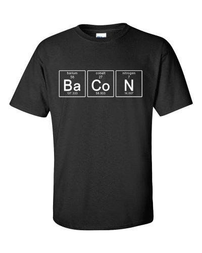 Periodic Bacon T-Shirt Schwarz