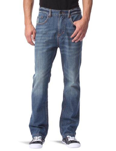 Globe Coverdale, Jeans da Uomo, Blu (DirtyWood), 30
