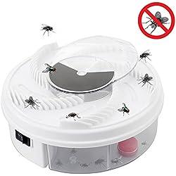 Daxoon Attrape-Mouches Automatique Destructeur d'Insectes électrique pour intérieur et extérieur, hôtel, Maison