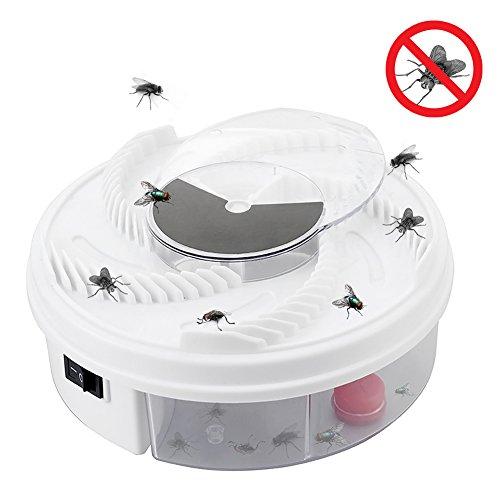 Daxoon Automatischer Fliegenfalle Elektrischer Insektenvernichter für Innen und Außen, Hotel, Zuhause