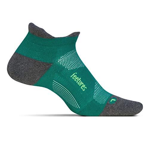 Feetures Herren und Damen EC5015 Elite Max Gepolstert Trainer Socken Packung mit 1 Rio Klein (Rio Runner)