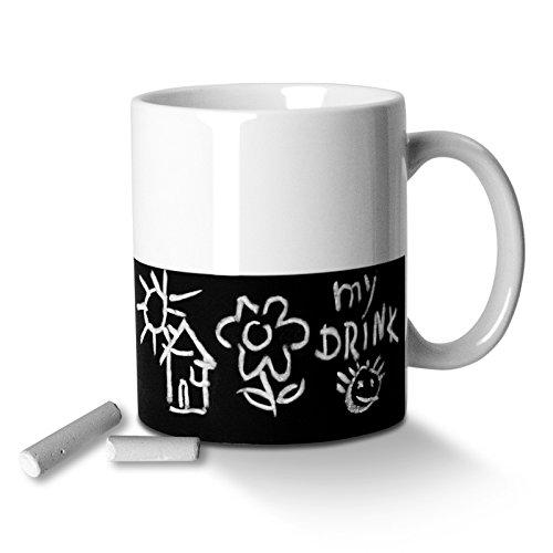 Invotis Chalk - Taza de café y té