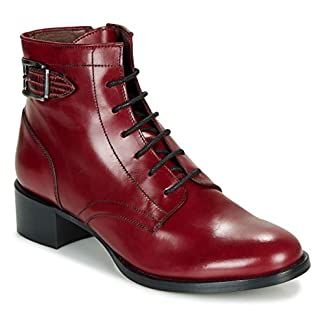 MURATTI ABYGAEL Ankle Boots/Boots Femmes Red Ankle Boots 7