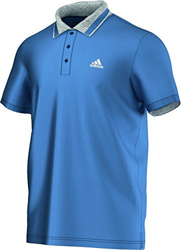 adidas Herren Shirt Sport Essentials Polo Vista Blue F14/White