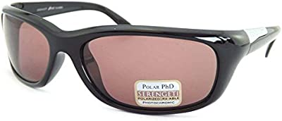Serengeti gafas de sol polarizadas fotocromáticas verucchio negro/Sedona 7726