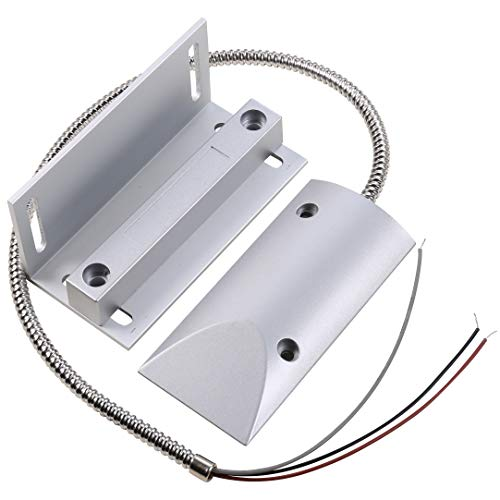 UHPPOTE Kabelrolle, magnetisch, für Türkontakt, NC/NO mit Halterung(Packung mit 1) -