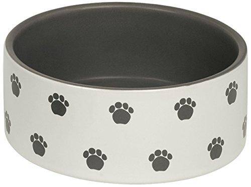 "Nobby Hunde Keramiknapf ""PATA"" creme / grau Ø15,0 X 6,0 cm"