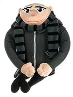 """Ogni fan di Despicable Me ama questo peluche Gru. Questo giocattolo farebbe un grande regalo per ogni bambino, soprattutto con il nuovo film Despicable Me! È così morbido e perciò ottimo per stare con la notte. È circa 16 """". Altri personaggi ..."""
