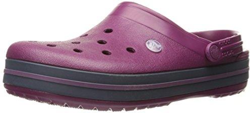 Crocs - Crocs Crocband Clog, Zoccoli Unisex - Adulto, Viola (Plna), 48/49 EU
