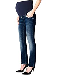 Esprit Maternity Pants Denim Otb Straight, Jeans-Maternité Femme